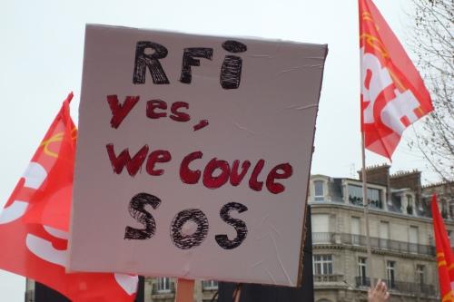 Un des slogans de la manif du 22 janvier